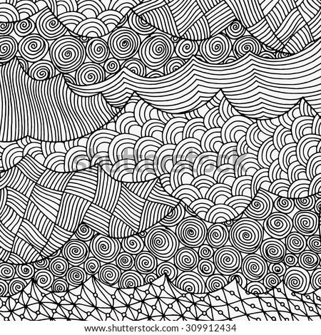 artistically ethnic pattern