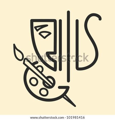 Arts emblem
