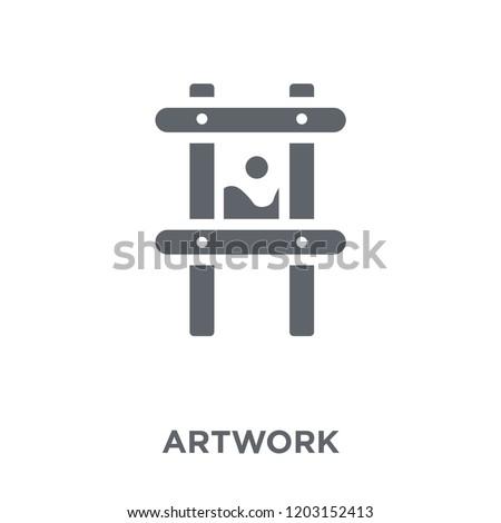 artwork icon artwork design
