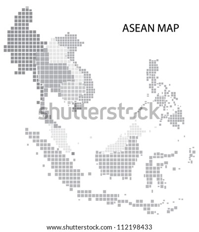 Asean Map, vector