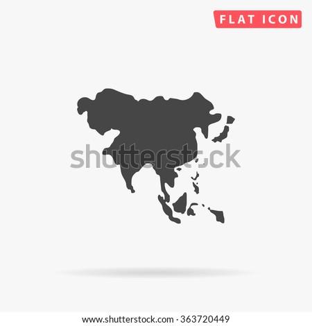 Shutterstock Asia Icon.