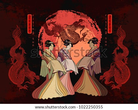 asian culture geisha and