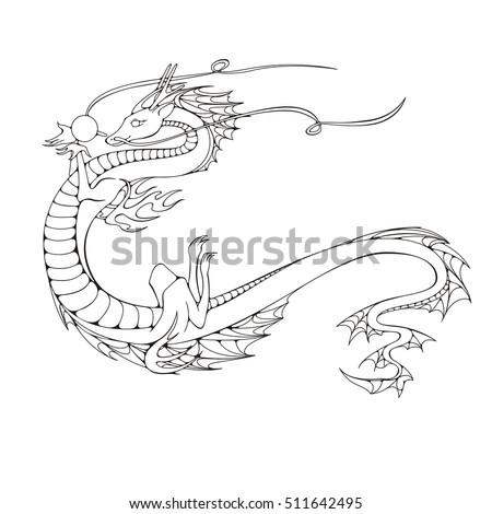 asian dragon symbol of the