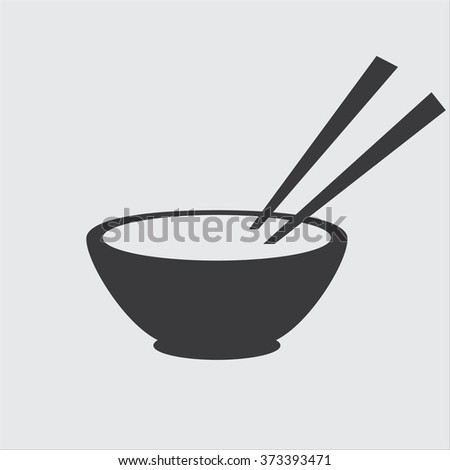 Asian Food Vector Icon