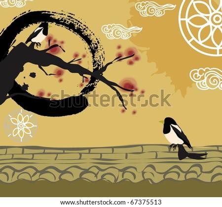 asian new year symbol