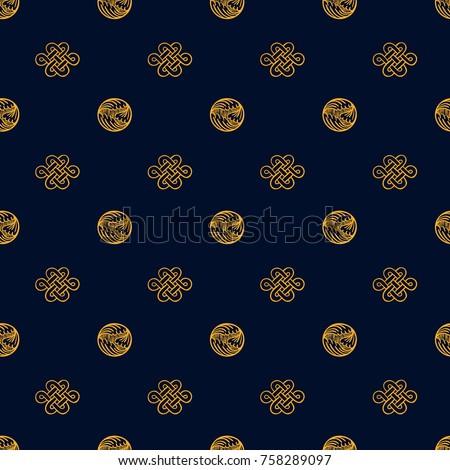 asian pattern kabuki japanese