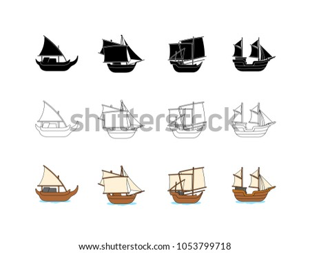 asian traditional ship