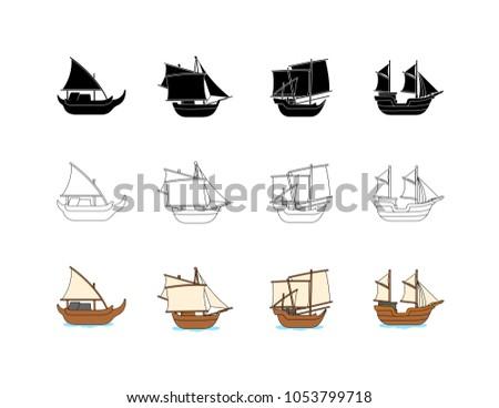 asian traditional ship