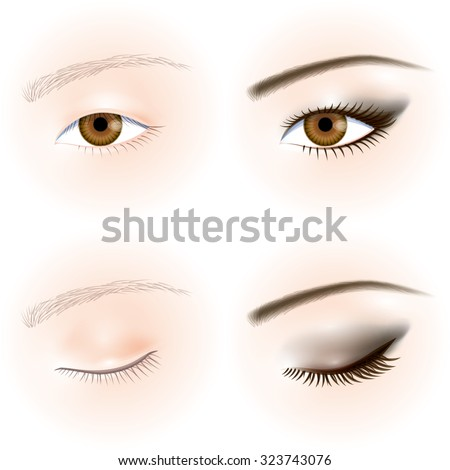 asians eyes eye makeup