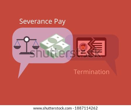 asking for fair severance pay