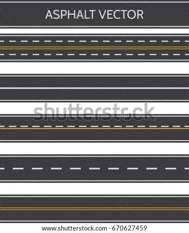 asphalt  a set of road types