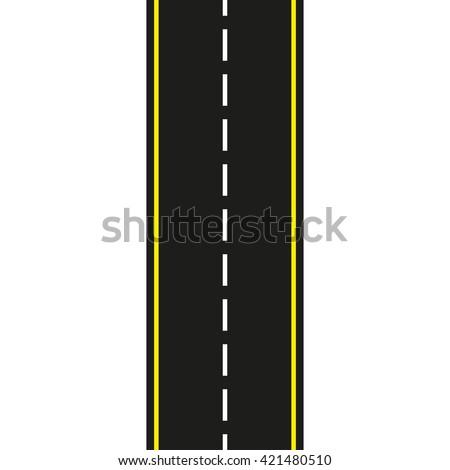 asphalt road seamless road