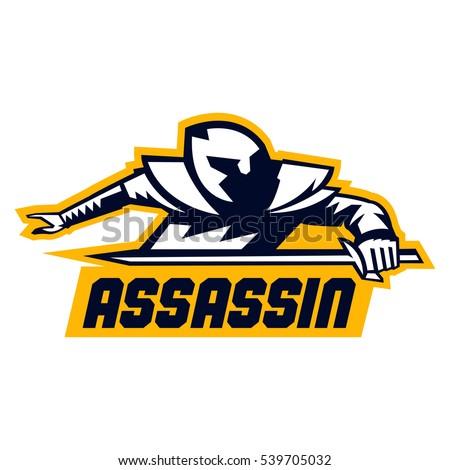 assassin logo lettering