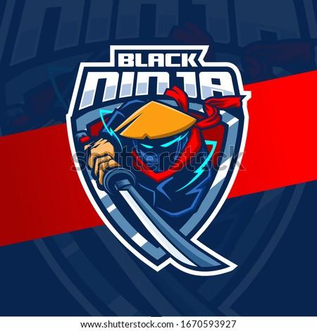 assassin ninja mascot esport