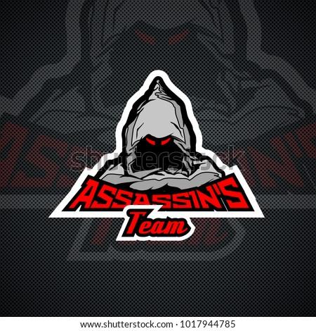assassin's team logo template