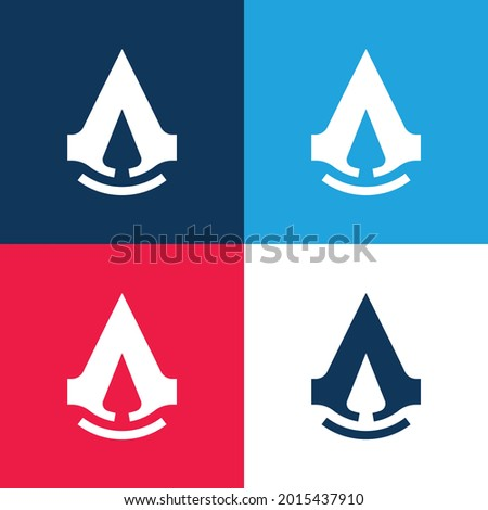 assassins creed blue and red