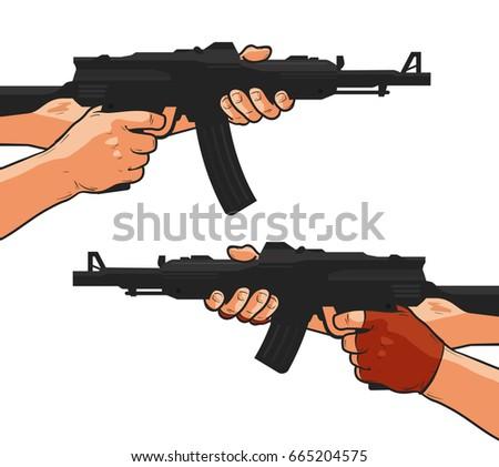 assault rifle  small arm