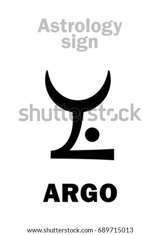 astrology alphabet  argo  argo