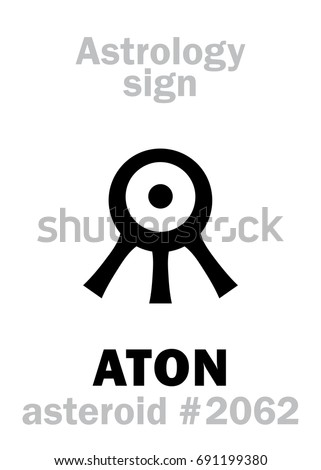 astrology alphabet  aton  aten