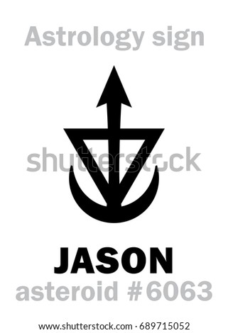 astrology alphabet  jason