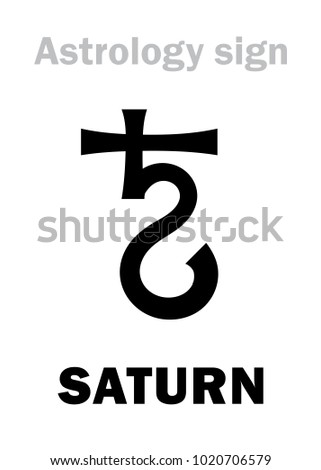 astrology alphabet  saturn