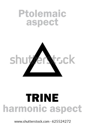 astrology alphabet  trine  120