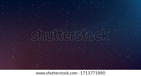 Astrology horizontal background, Star universe background, Milky way galaxy, Vector Illustration.