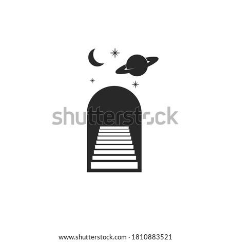 astrology logo doorway with