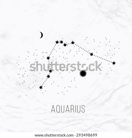 astrology sign aquarius on