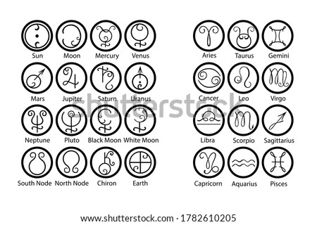 astrology  symbols of the