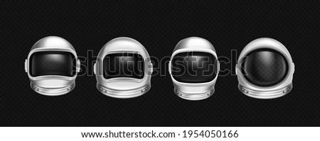 astronaut helmets  cosmonaut
