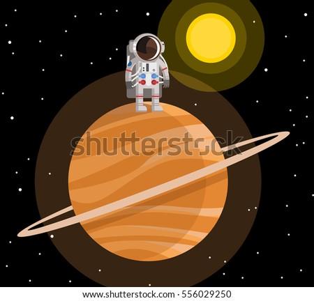 astronauts on saturn - photo #20