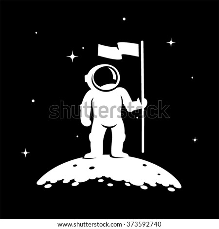 astronaut standing on the