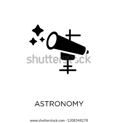 Astronomy icon. Astronomy symbol design from Astronomy collection.
