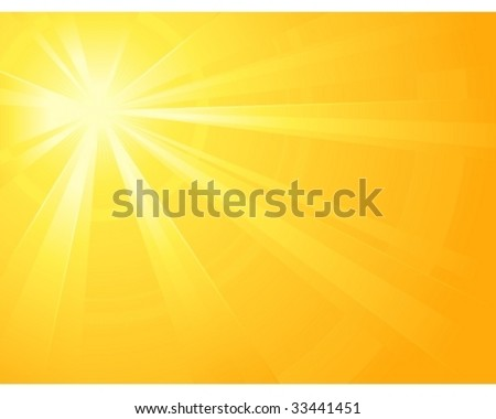 asymmetric yellow orange light