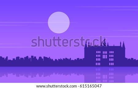 at night guidhall london