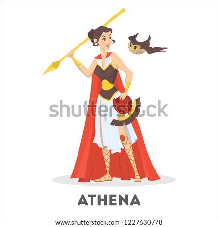 athena greek goddess from