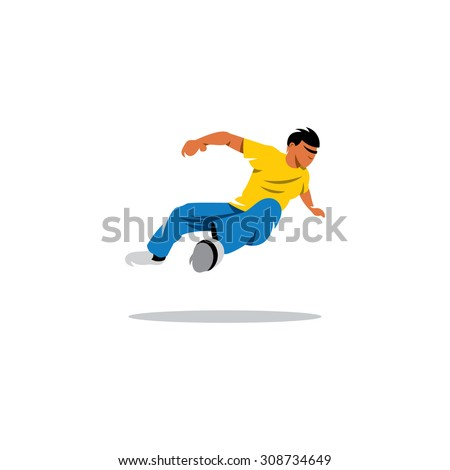 athlete jumping sign free