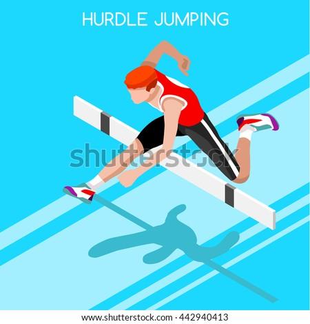 athletics hurdle jumping 2016