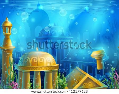 atlantis seamless submerged