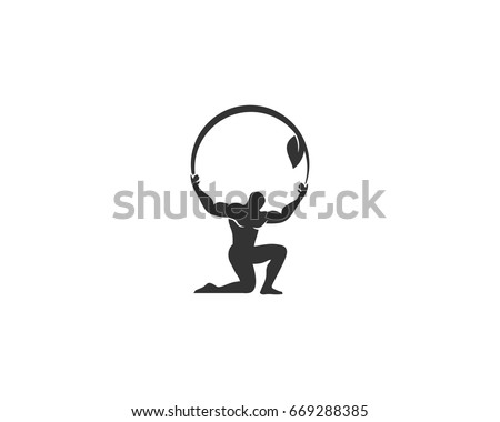 Atlas Logo vector Foto stock ©