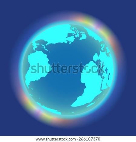 atmosphere  aurora borealis