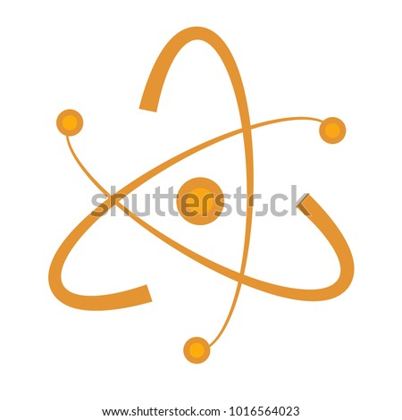 Atom Abstract Vector Shape