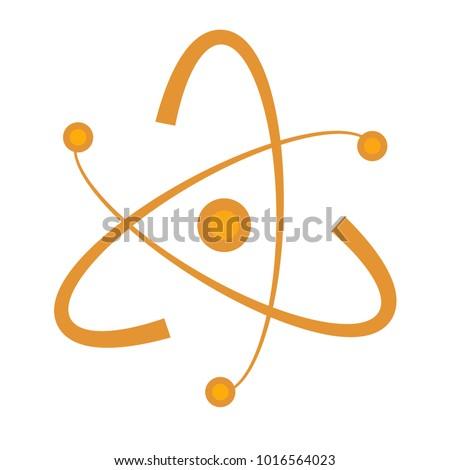Atom Abstract Vector Shape