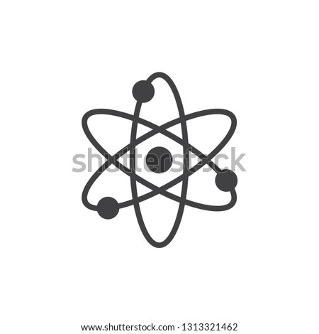 Atom icon, vector for web,mobile and print