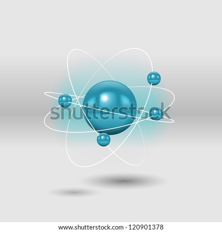 atom  vector illustration