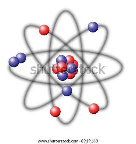 Atom - vector illustration