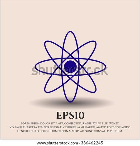 Atom vector symbol
