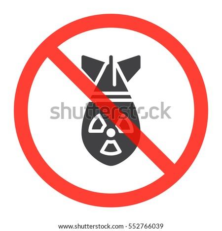 atomic bomb icon in prohibition