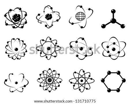 Atomic icon download free vector art stock graphics images atomic icons ccuart Images